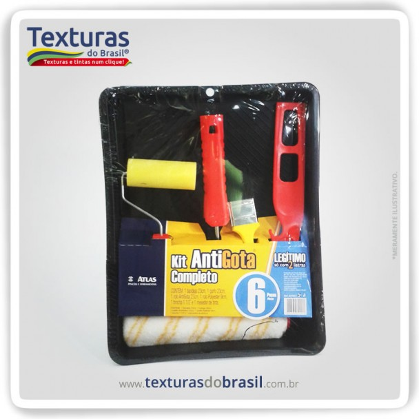 Kit para Pintura Anti Gota - Atlas