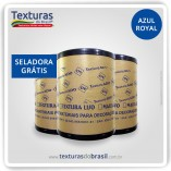 Textura Lisa Azul Royal - DF - Barrica 25kg